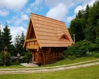 Dom pod wyciągiem, chata góralska