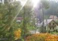 Willa Pod Jemiołą Wisła ul.Leśna 12 widok z okien na okolicę